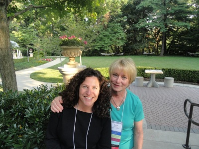 Tracy Gruber and Karen Crompton
